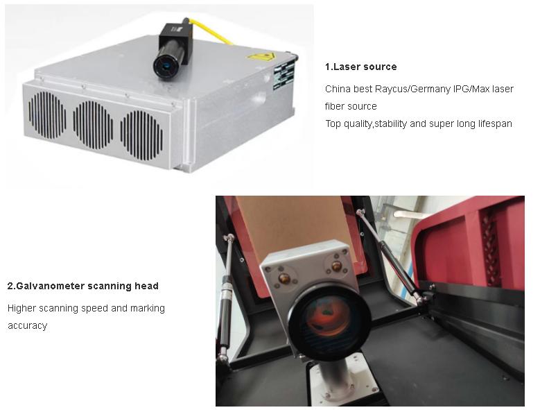 Small enclosed laser equipment