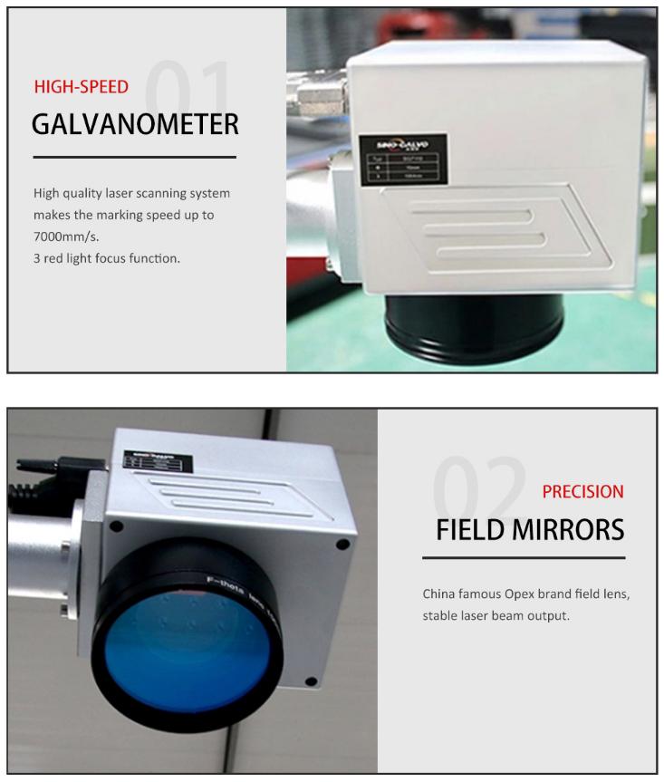 Large-format Fiber Laser Marking Machine