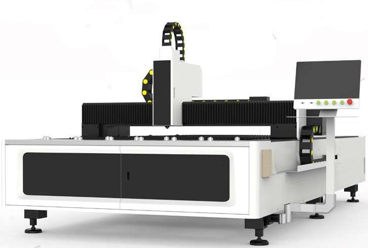 Fiber laser cutting machine1
