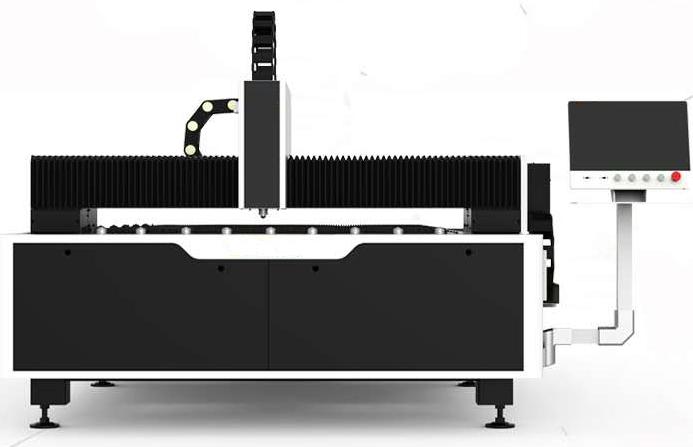 Fiber laser cutting machine2