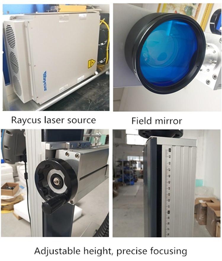 fly laser  marking machane