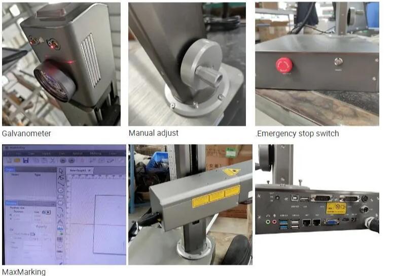 Small portable laser engraving machine